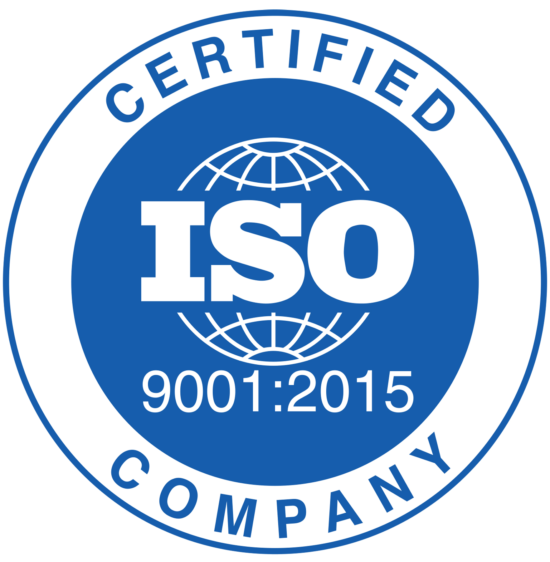 Proud To Announce We Have Achieved Iso 90012015 Certification